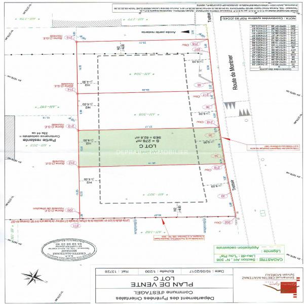 Offres de vente Terrain Estagel 66310